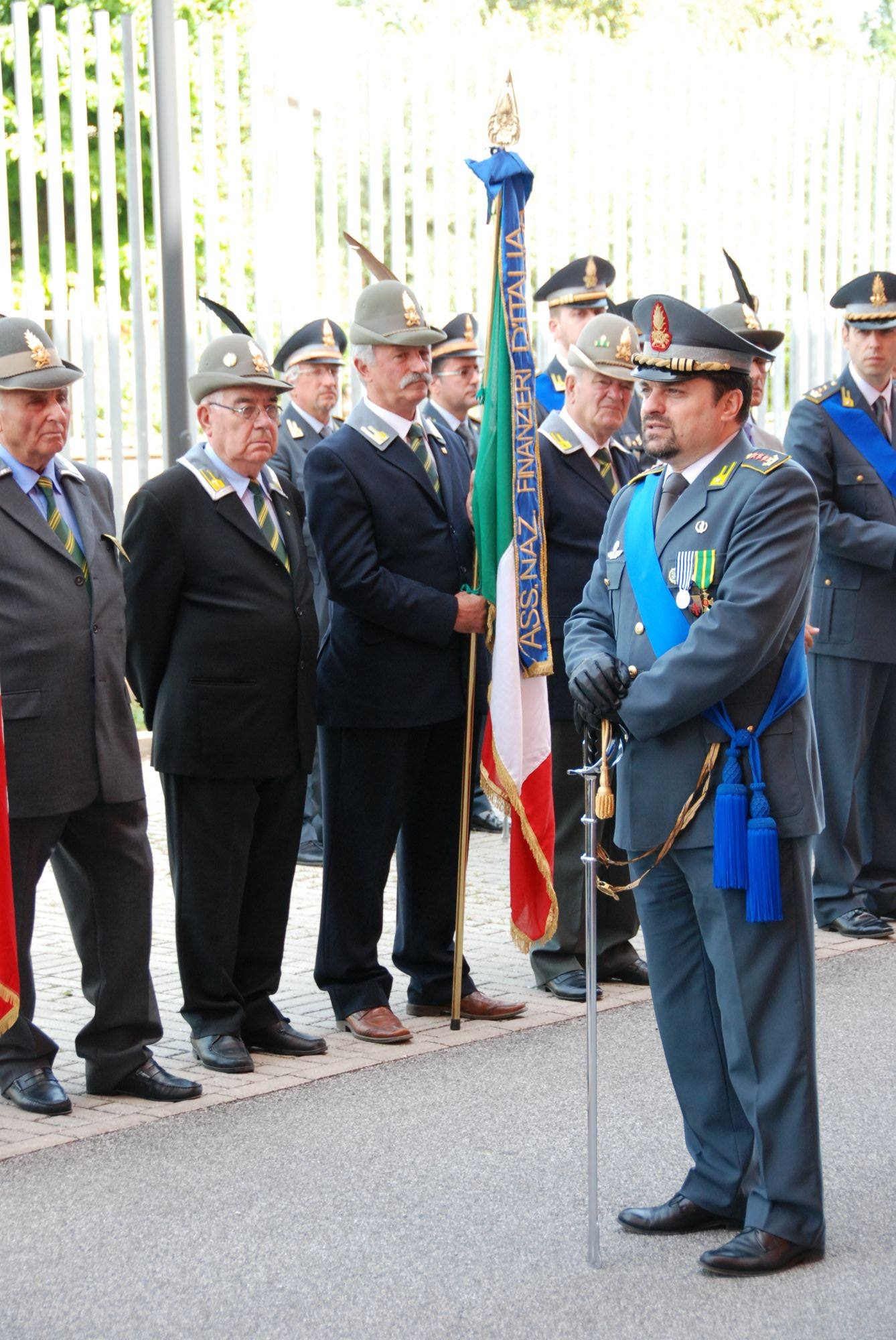 Festa a Lucca per la Guardia di Finanza