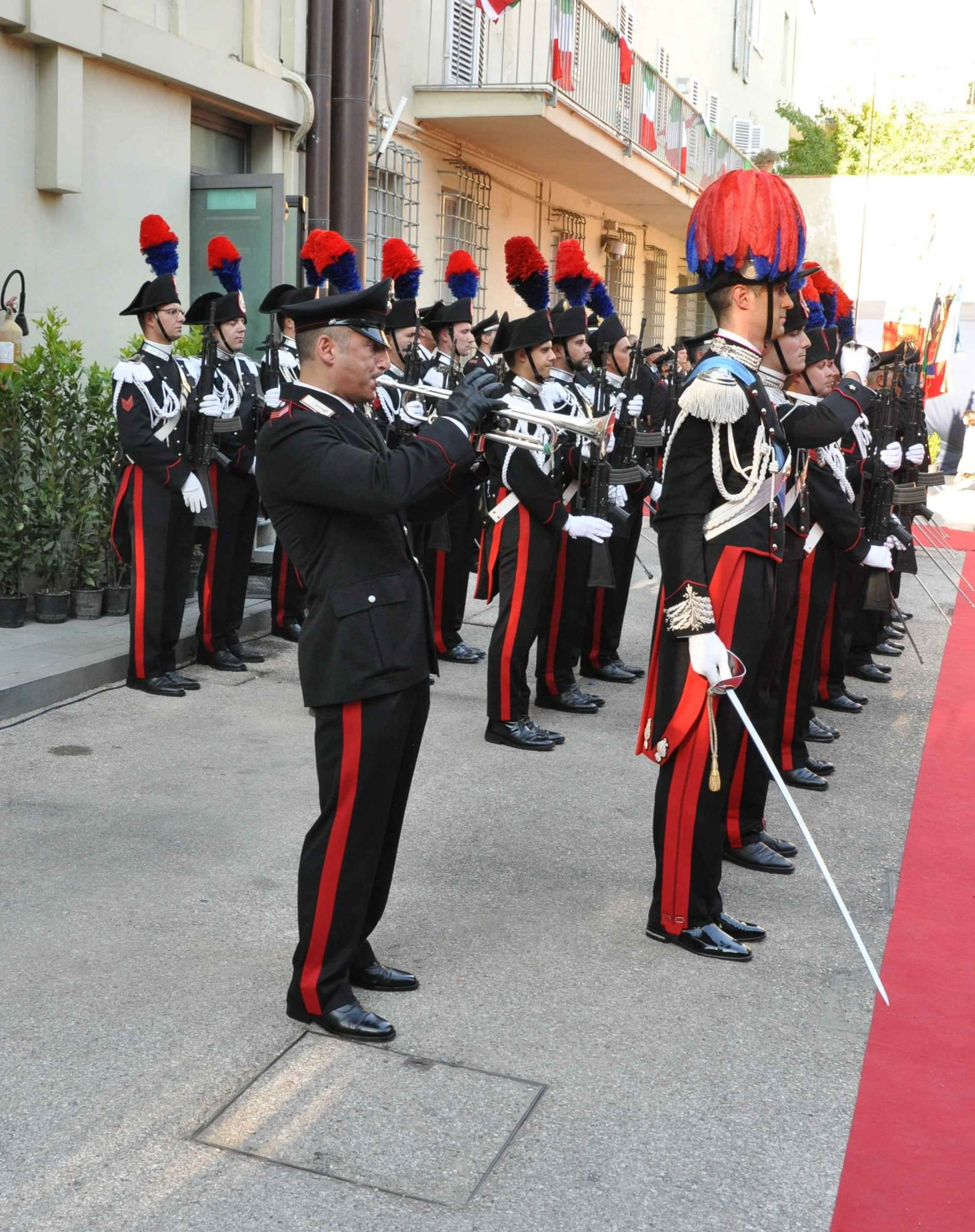 Cittadinanza onoraria di Forte dei Marmi all'Arma dei Carabinieri