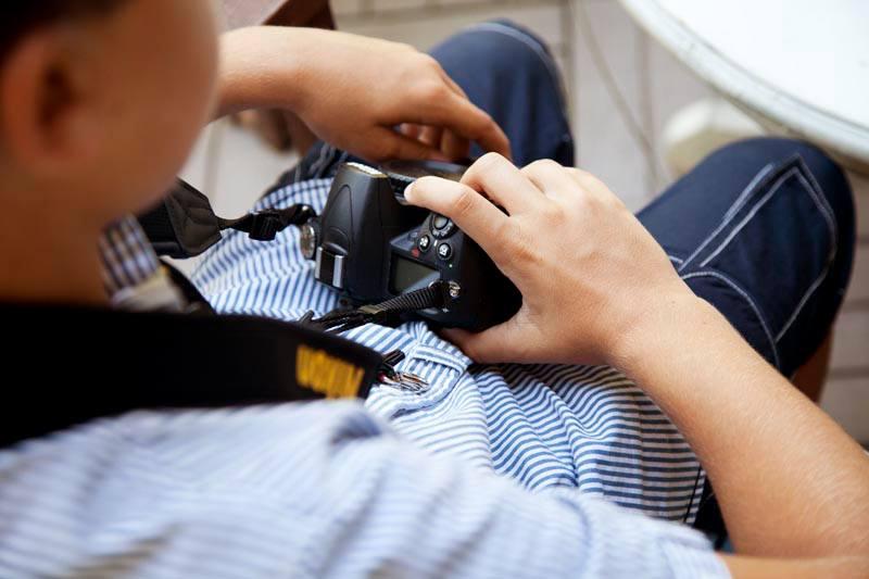 La fotografia è materia per bambini. Corsi a La Bottega