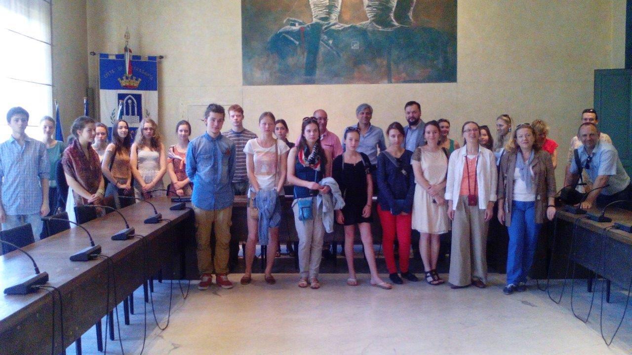 In città i migliori allievi del Moscow Academic Art College