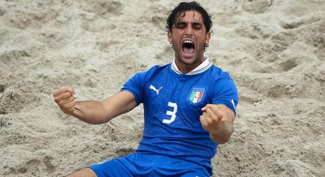 Quattro viareggini in Nazionale per la Euroleague di beach soccer