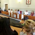 La presentazione di Lido Cinemare in Municipio a Camaiore (foro Matarazzo)
