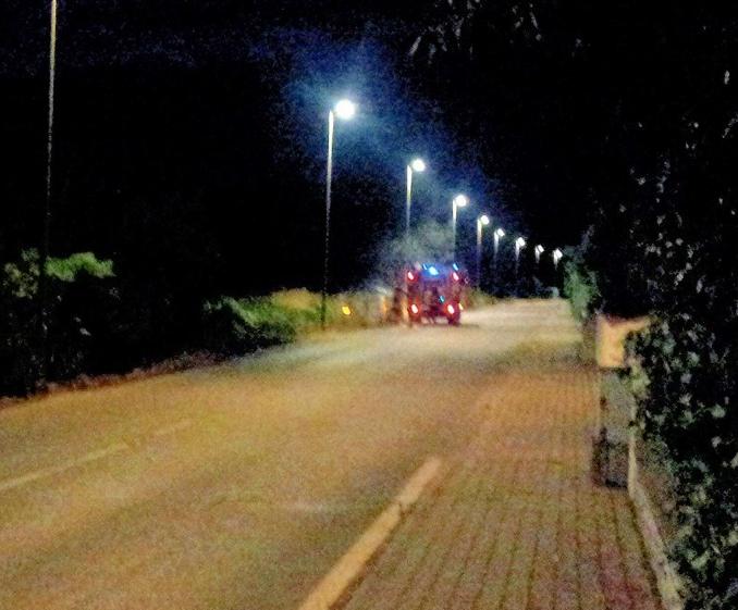 Cassonetti a fuoco. Vandali in azione a Lido di Camaiore