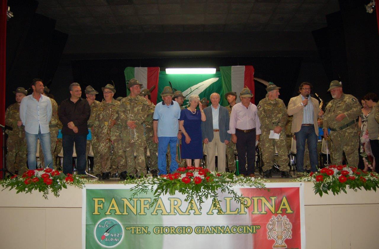 """""""Il Pieve mormorò"""". Concerto della Fanfara Alpina per il centenario della Grande Guerra"""