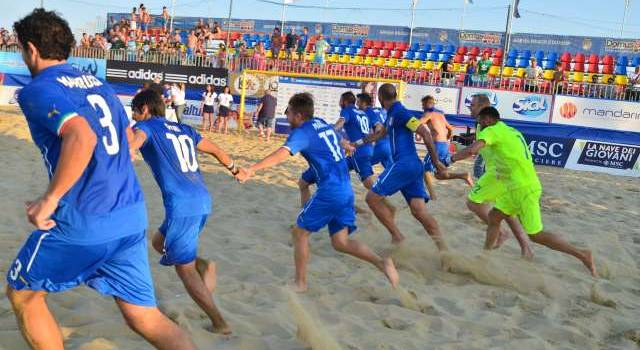 Beach soccer, quattro viareggini in nazionale