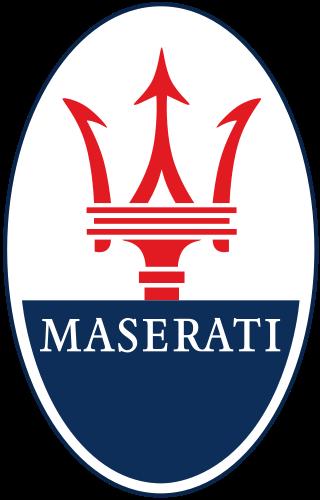 Solo merce in esposizione nello stand Maserati. Vietato l'acquisto