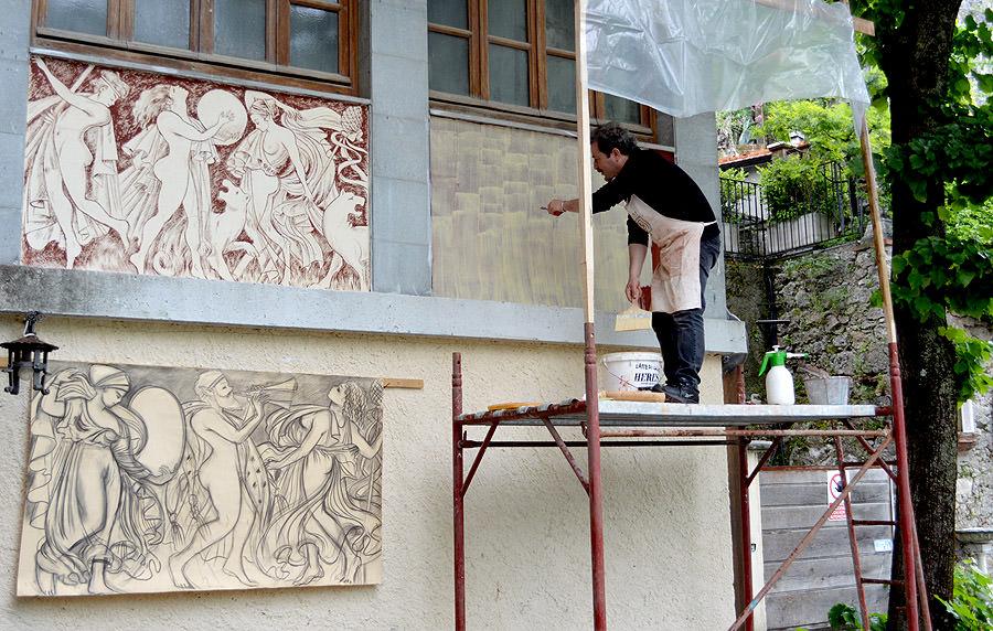 Prende il via con uno stage l'edizione 2014 di Sgraffiti a Casoli