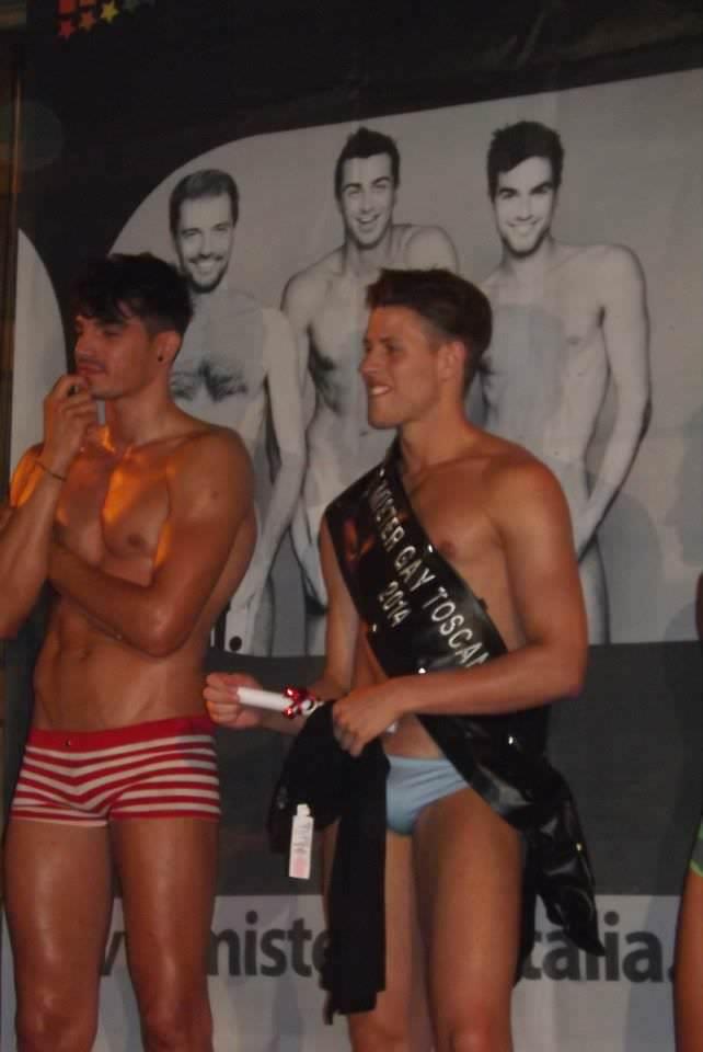 Nicola Bertoli è il nuovo Mister Gay Toscana 2014