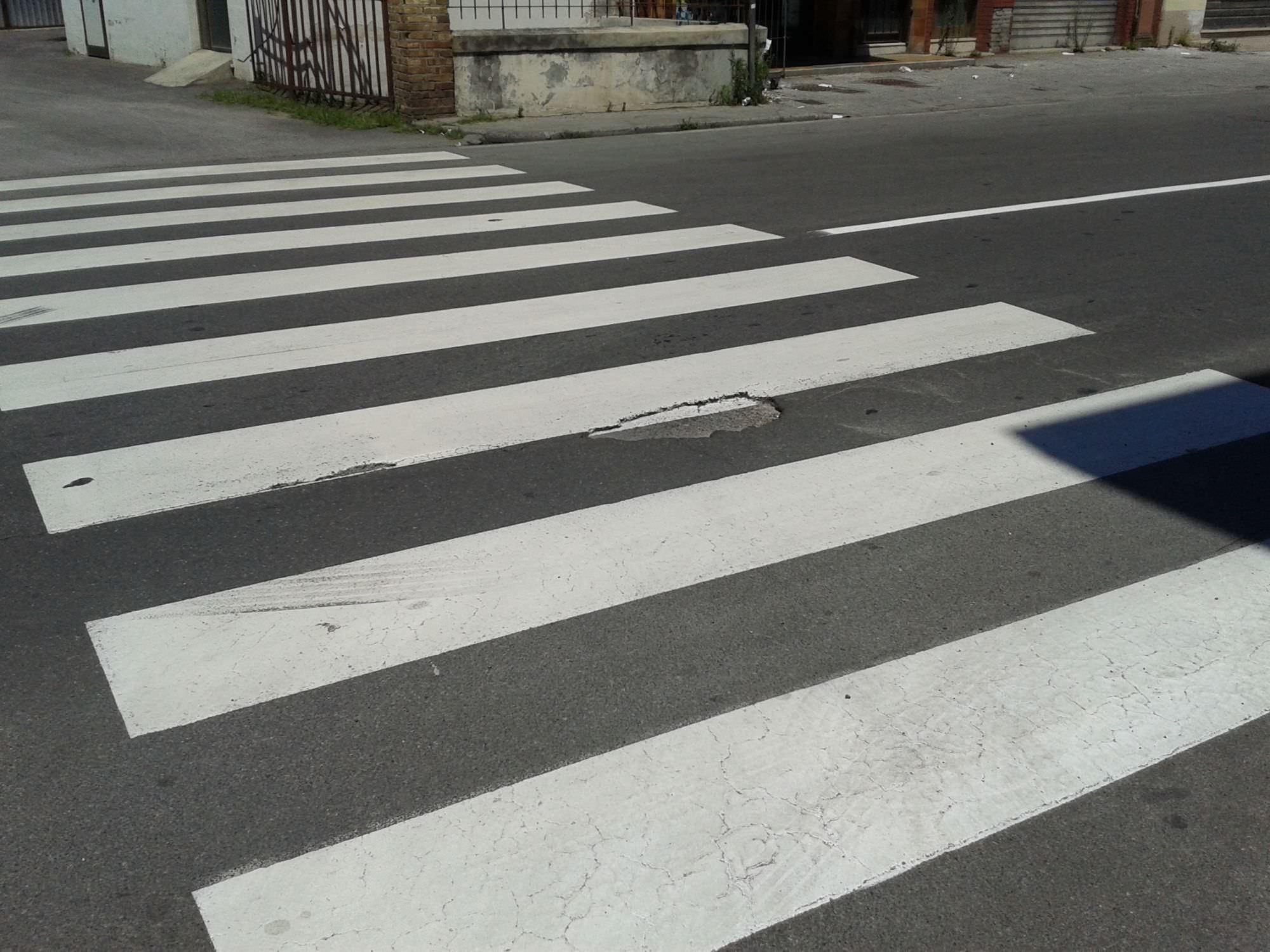 Al via il ripristino della segnaletica stradale