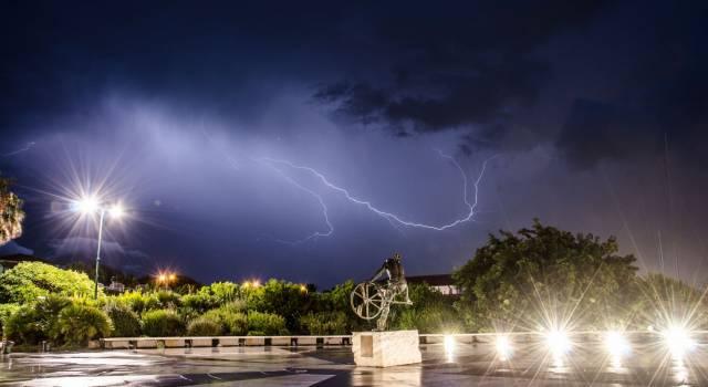 Pioggia e temporali: allerta meteo prorogata