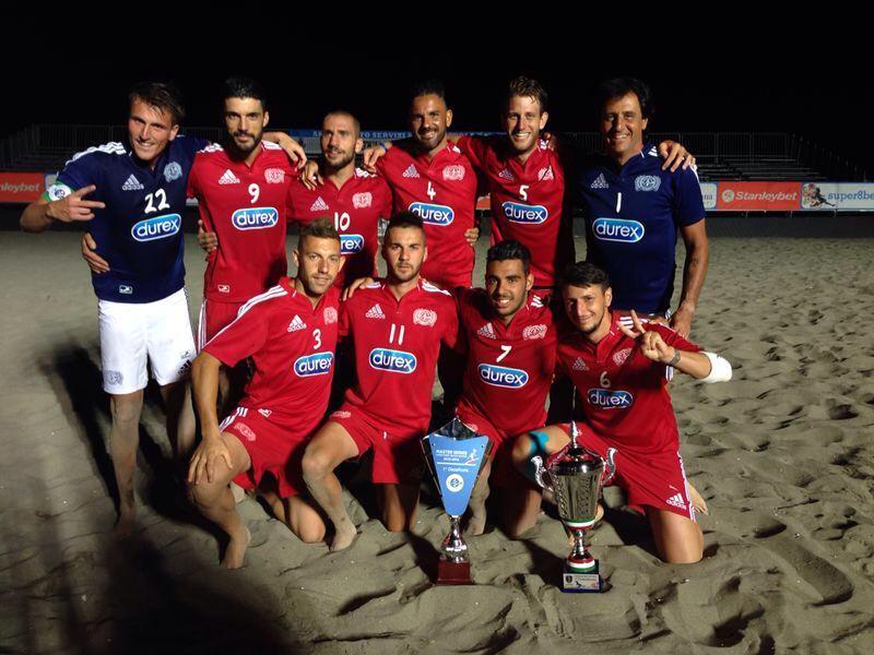 Beach soccer, i Cavalieri del Mare superano la Lazio ai rigori