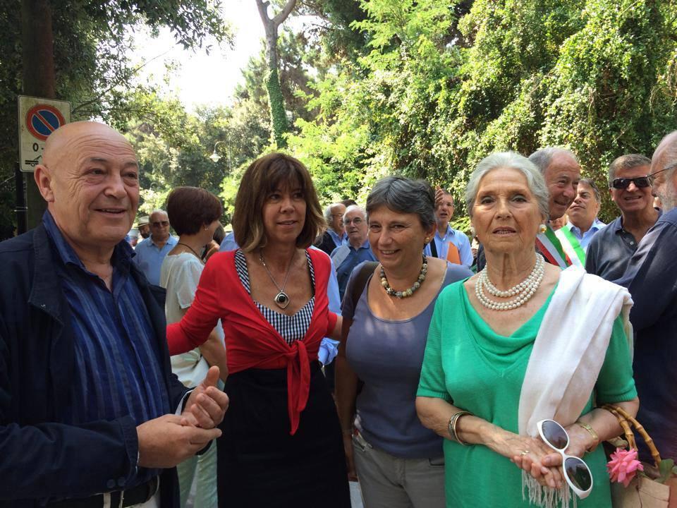 Targa alla memoria per Rolando Cecchi Pandolfini e Gaetano Paquinucci