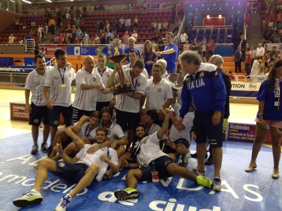 Hockey su pista, Barozzi, Verona e Motaran campioni d'Europa con la nazionale italiana