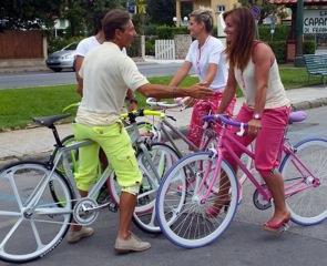 Sky dedica una puntata alle biciclette di tendenza create dal versiliese Maurizio Pezzini