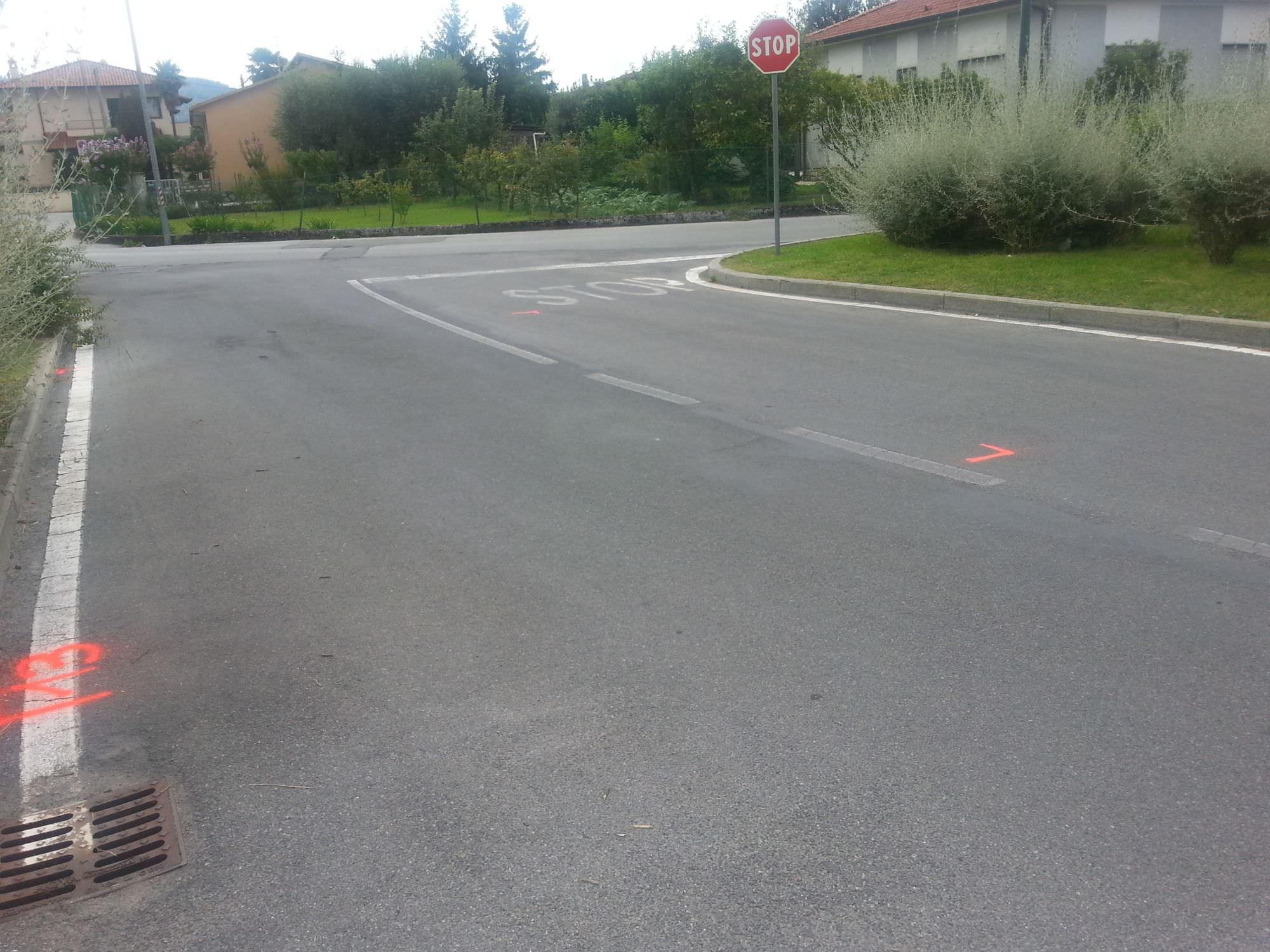Iniziano i lavori sulla via Sarzanese per la rimozione delle ceppaie