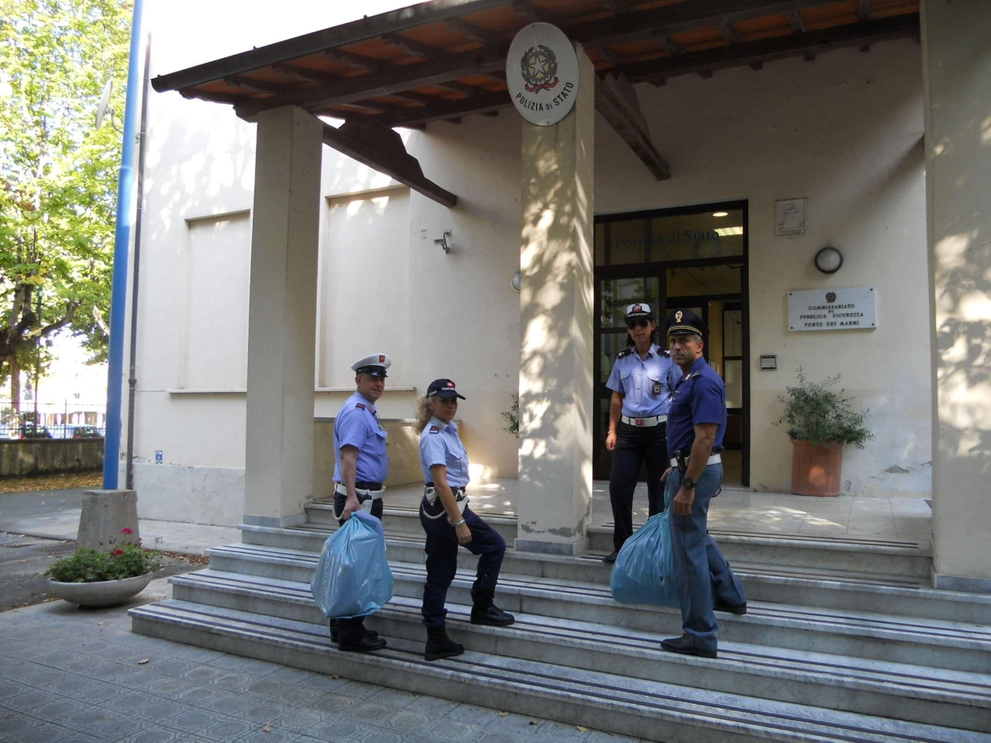 Bilancio 2015 per la polizia municipale di Forte dei Marmi
