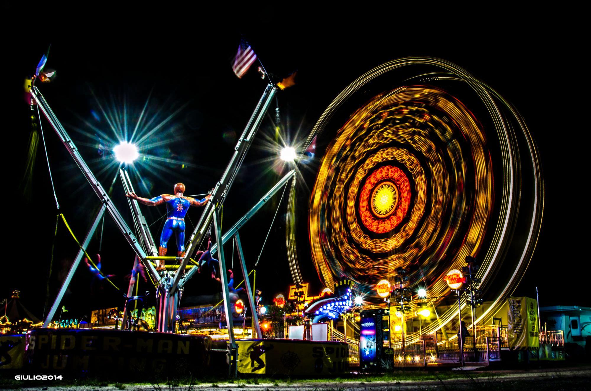 Luna park gratuito per i bambini a Forte dei Marmi