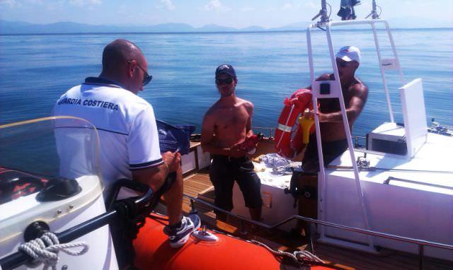Pesca sportiva, multe in mare a Viareggio