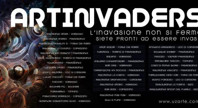 Art-Invaders, la mostra di Uz che abbraccia la Versilia. E non solo