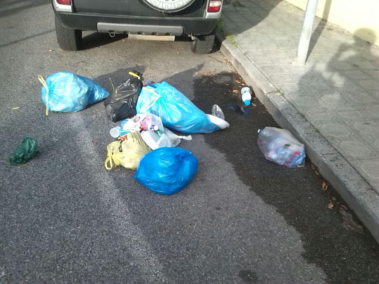 Rifiuti in terra e degrado, ancora proteste a Lido di Camaiore