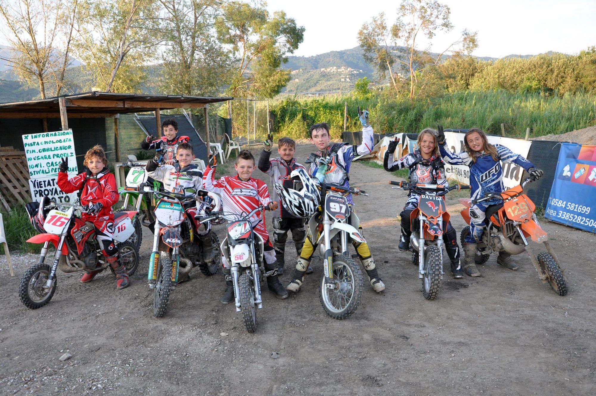 Corso di minicross al Magazzeno