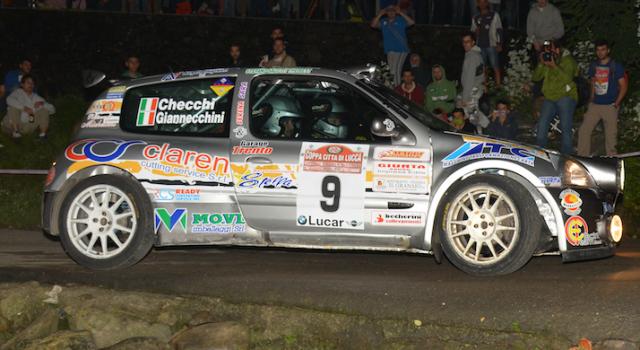 Il Team Giannecchini & Salotti pronto per il Rally di Camaiore