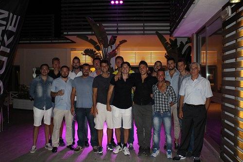 Pallavolo Massa presentata al Beach Club