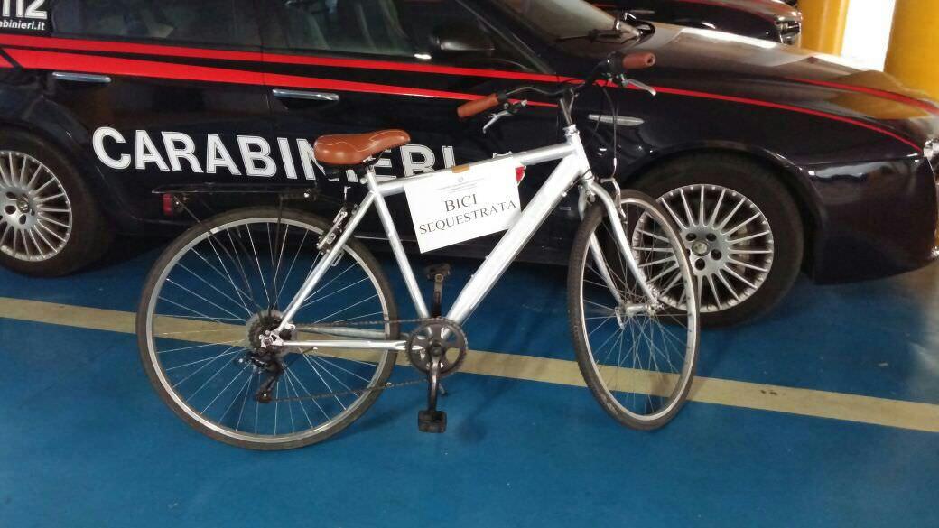 Aveva rubato alcune biciclette, denunciato 34enne viareggino
