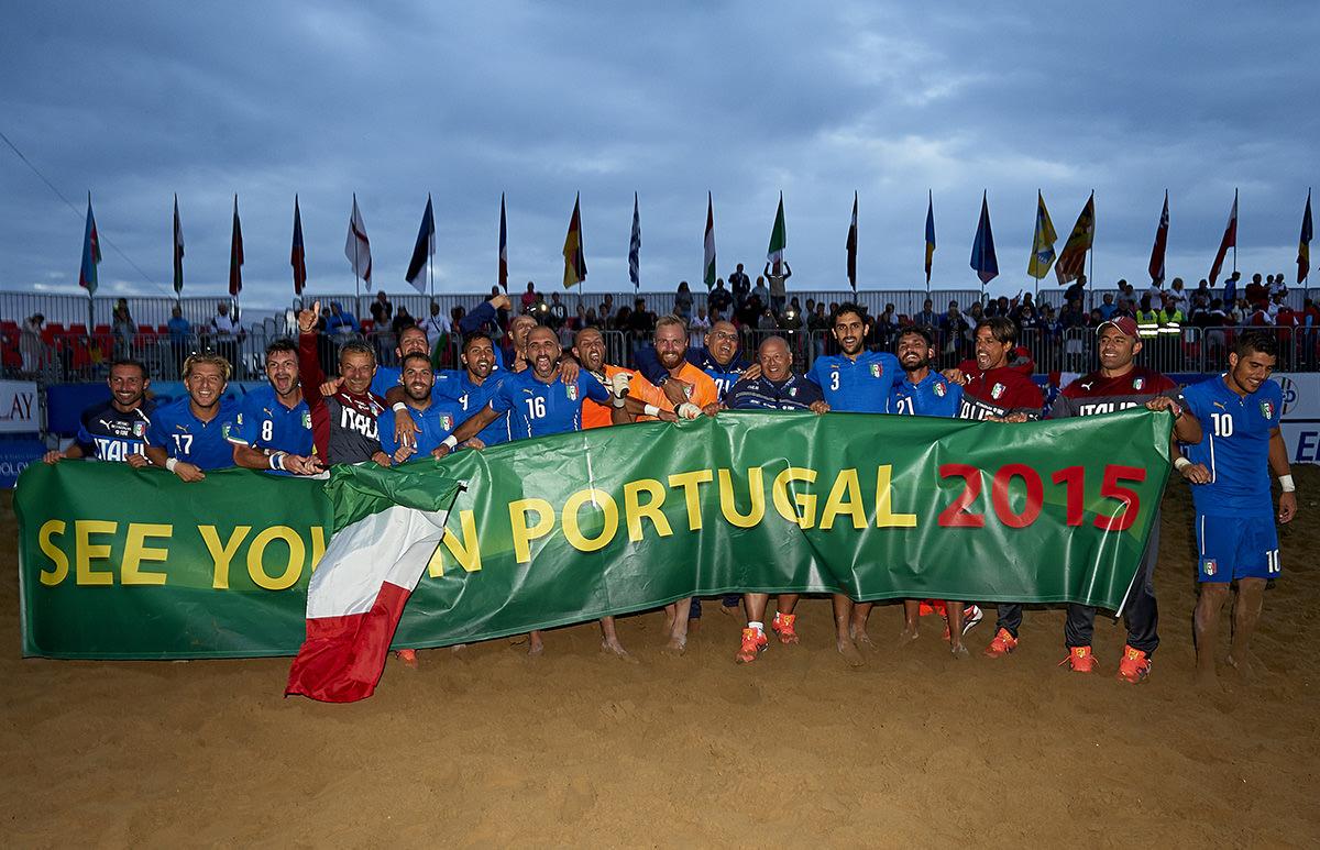 Italia, è fatta. I viareggini regalano la qualificazione ai Mondiali di beach soccer