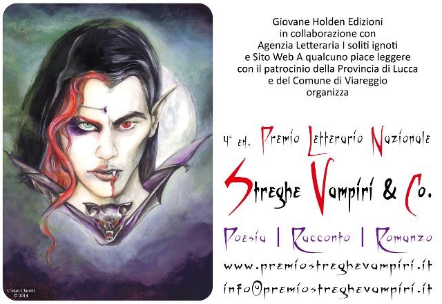 Ancora pochi giorni per iscriversi al Premio Letterario Nazionale  Streghe Vampiri & Co.