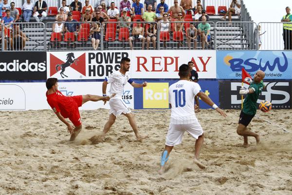 Almeno la Nazionale di beach soccer fa divertire. Gori, un'altra cinquina