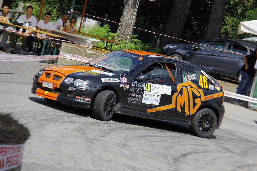 Marchetti leader provvisorio del Trofeo Rally Automobile Club Lucca