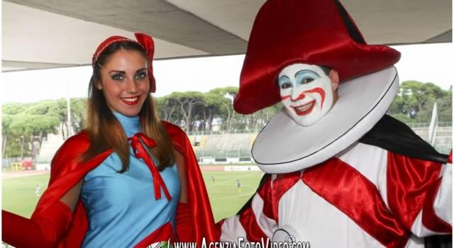 Burlamacco e Ondina assistono alla debacle del Viareggio