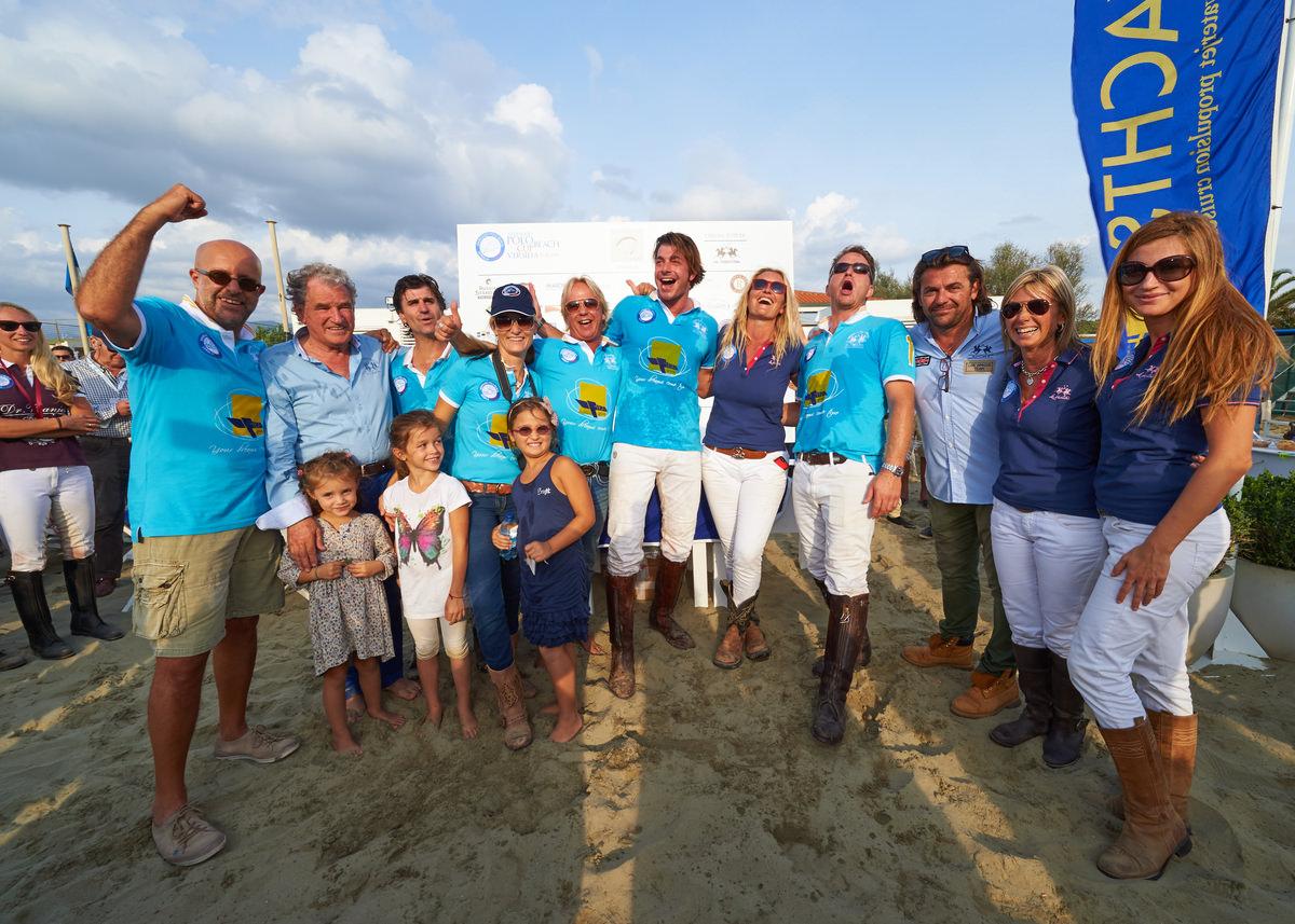 Il Team Fipa Group vince la Polo Beach Cup Versilia, gran finale sotto il sole