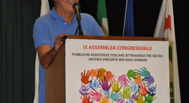Il viareggino Attilio Farnesi confermato alla guida delle Pubbliche Assistenze Toscane