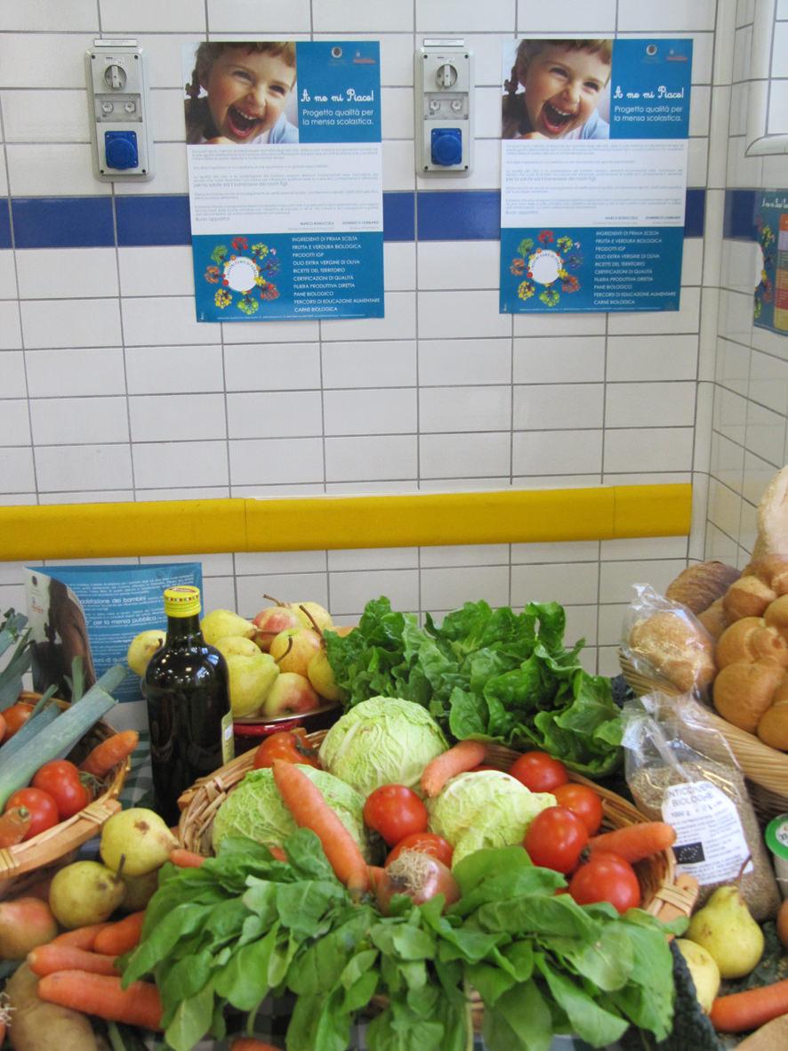alimenti per mensa verdura