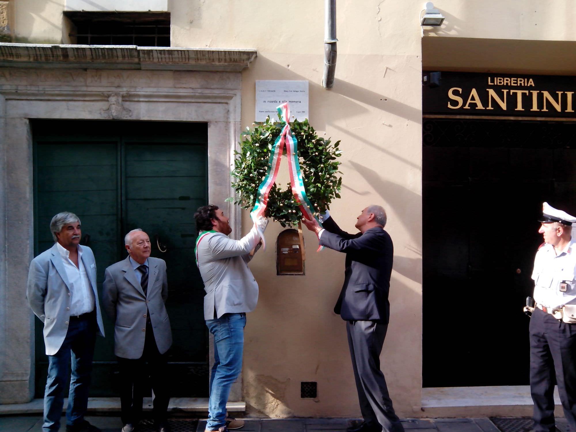 """Lombardi a """"Pianeta Galileo"""", l'omaggio di Pietrasanta a Padre Eugenio Barsanti"""