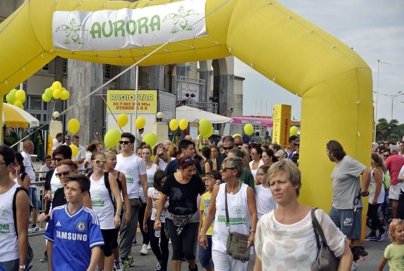 """Illegal Run"" in memoria di Aurora Francesconi (le foto)"