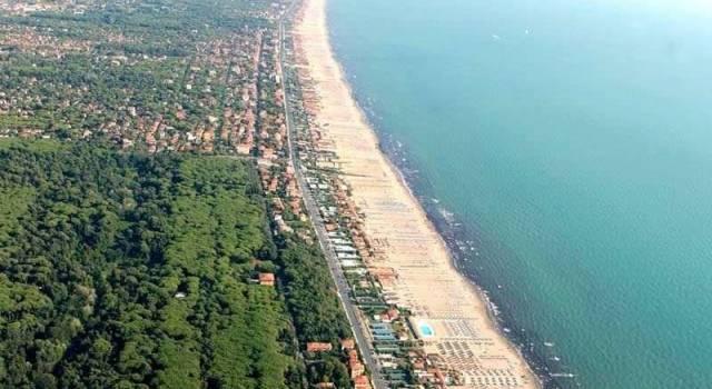La costa apuo versiliese sul sito dell'Ambasciata italiana  a Mosca