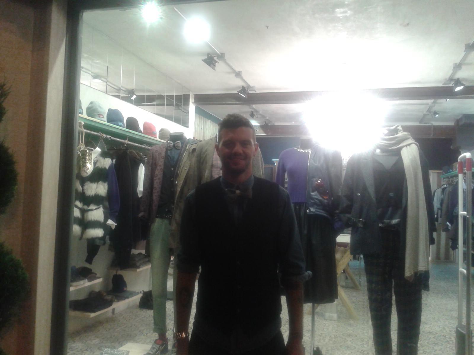 Inaugurato il nuovo negozio di abbigliamento di Samuele Pizza