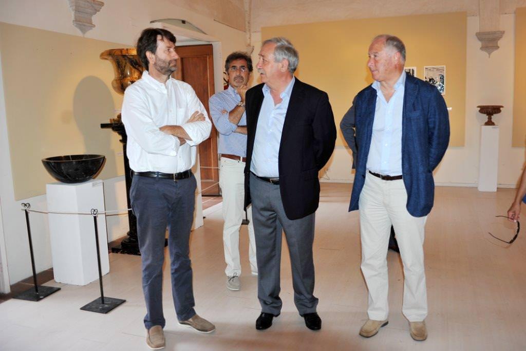 Domenico Lombardi incontra il ministro Franceschini. Importanti progetti d'arte da discutere