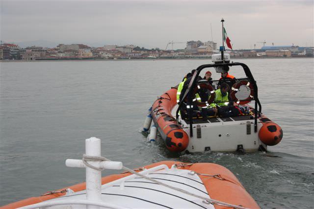Esercitazione Sarex 2014. Simulazioni in mare con la Guardia costiera