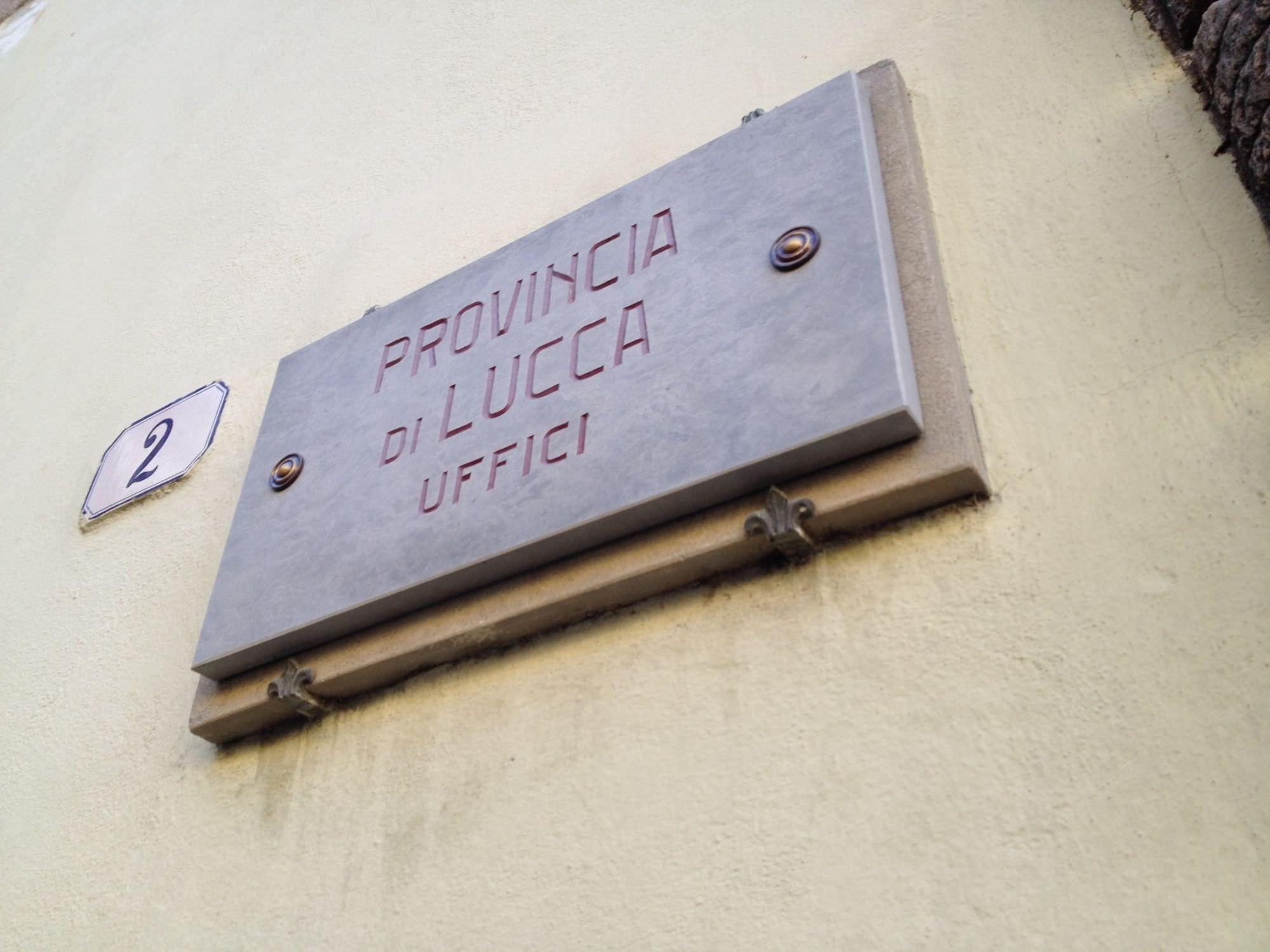 Lucca, centrodestra unito per le provinciali