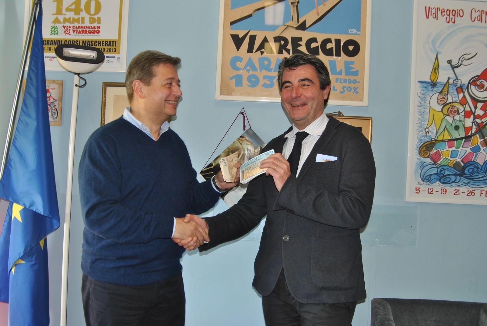 Baccelli e Pozzoli da Franceschini, per il Carnevale di Viareggio possibili aiuti dal ministero