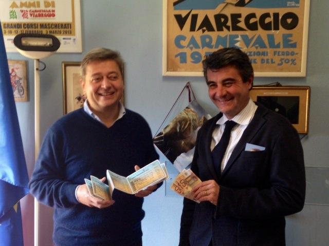 Partita la vendita dei biglietti per l'ingresso ai corsi del Carnevale di Viareggio 2015