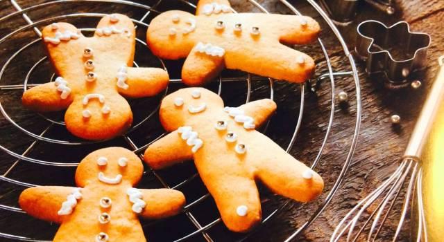 Omino di pan di zenzero, dolce delle feste.