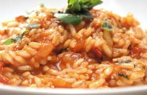 risotto con la tinca