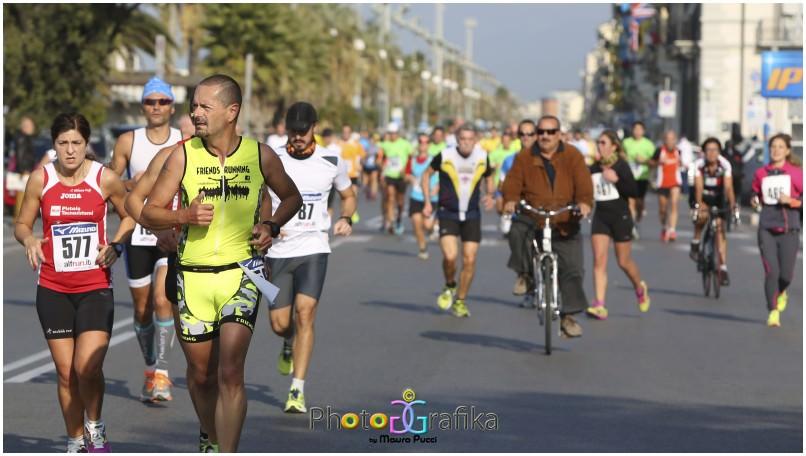 A Viareggio c'è la mezza Maratona: l'elenco delle strade chiuse al traffico