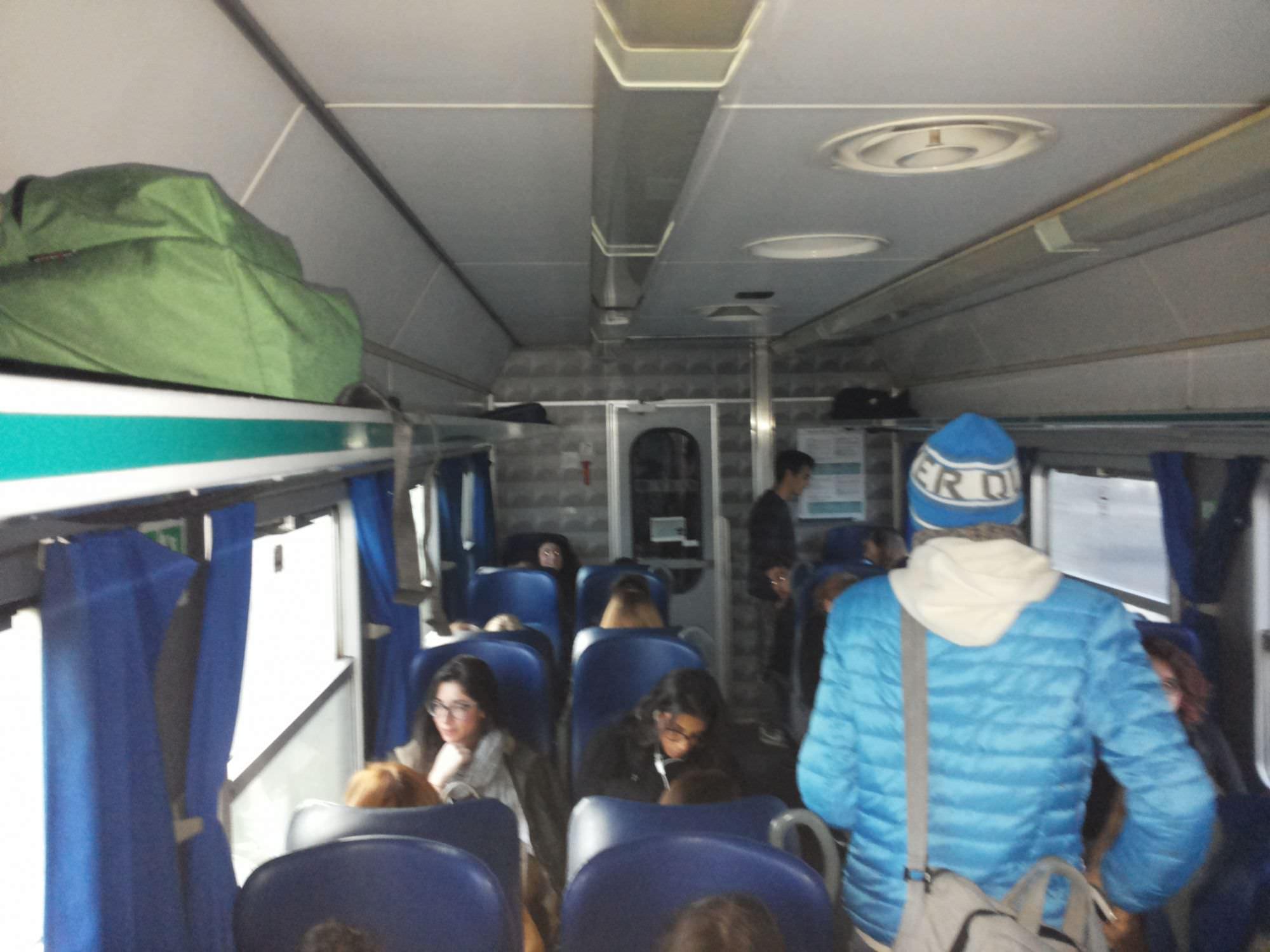 Treni, bonus ai pendolari per malfunzionamento aria condizionata