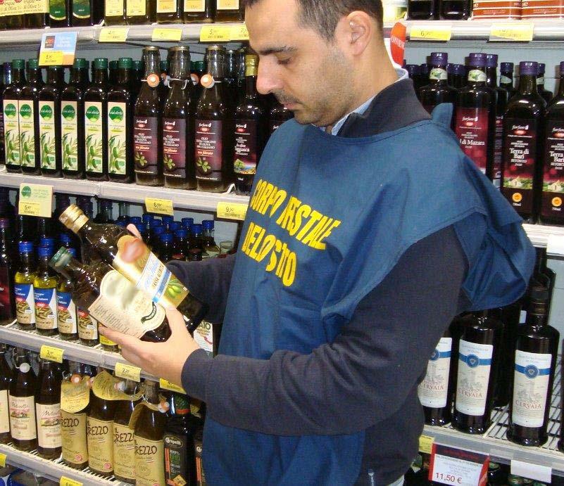 """Sequestrate 700 confezioni di olio extra-vergine """"a bassa acidità"""""""